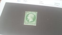 LOT 259958 TIMBRE DE FRANCE OBLITERE N�12 VALEUR 90 EUROS DEPART A 1€