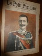 1903 LE PETIT PARISIEN: Gravures :Victor Emmanuel III Roi D'Italie; Pape Léon XIII; Loubet En Angleterre - Journaux - Quotidiens