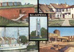 Lietuvos  -  Klaipeda (Memel) - Denkmal Für Sowjetsoldaten  -  1981 - Litauen