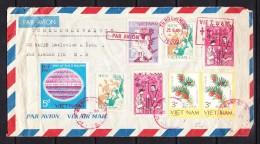 COVERS-3-18 AVIA LETTER TO TCHECOSLOVAKIA. 25.06.1988. - Vietnam