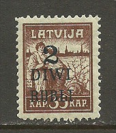 LATVIA Lettland 1920 Michel 59 MNH - Lettonie