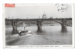 (4383-00) London - Waterloo Bridge And St Paul's From Charing Cross - Sin Clasificación
