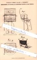 Original Patent - Rudolf Robert Haase In Chemnitz , 1887 , Zündholzbehälter , Streichholzschachtel , Zündhölzer !!! - Zündholzschachteln