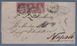Toscana 1856 - Piego Da Firenze A Napoli - Toscana