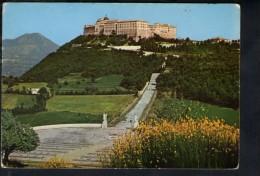 J2483 ABBAZIA DI MONTECASSINO ( FROSINONE ) LATO NORD OVEST - ED. RIS. ABBAZZIA _ MARCONI 662678 - Italia