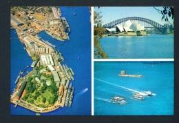 AUSTRALIA  -  Sydney  Multi View  Postage Paid  Unused Postcard As Scans - Sydney