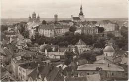 Tallinn Estonia, View Of Town, 1960s Vintage Real Photo Postcard - Estonia