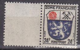 AllBes FranzZone 9 A Mit Leerfeld Links, Postfrisch ** - Zone Française
