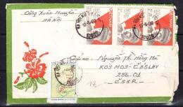 COVERS-3-35 LETTER TO CZECHOSLOVAKIA - Vietnam