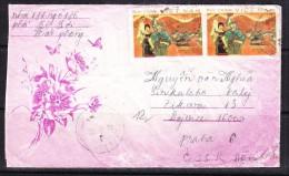 COVERS-3-36 LETTER TO CZECHOSLOVAKIA - Vietnam