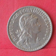 PORTUGAL  1  ESCUDO   1964   KM# 578  -    (Nº11891) - Portugal