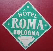 - H�TEL ROMA - BOLOGNA -