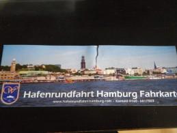 ticket transport visite du port d'HAMBOURG