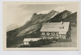 Falkenhütte Im Karwendel Gegen Risser Und Lalider Falken, 1949. Kleinformat - Österreich