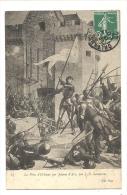 Cp, Peintures Et Tableaux, La Prise D´Orléans Par Jeanne D´Arc - J.E. Lenepveu, Voyagée 1907 - Pittura & Quadri