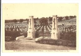 Cp, Militaria, La Targette, Le Cimetière Militaire Français (du Riez) - Soldatenfriedhöfen