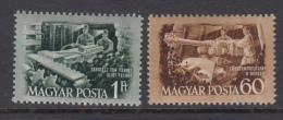 Hungary 1952 - Michel 1263-1264 Mint Hinged * - Hungría