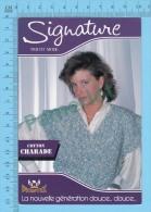"""Advertising - Publicité (  """" Cotton Charade """", Phentex, Signature Tricot Mode, Belle Femme ) 2 Scans - Mode"""