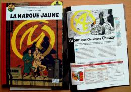 Intégrale Edgar P. Jacobs / Le Monde > BLAKE ET MORTIMER : La Marque Jaune (dos Toilé) + LE MONDE 2 N° 195 - Blake Et Mortimer