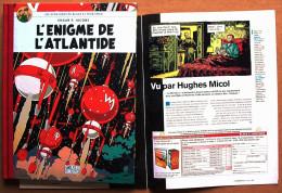 Intégrale Edgar P. Jacobs / Le Monde > BLAKE ET MORTIMER : L´énigme De L´Atlantide (dos Toilé) + LE MONDE 2 N° 196 - Blake Et Mortimer