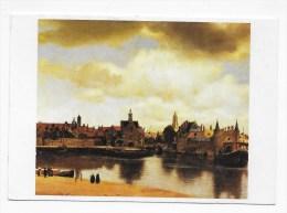 JOHANNES VERMEER - VUE DE DELFT - CPM GF VOYAGEE - 75 - Malerei & Gemälde