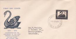 Australia 1954 Swan FDC - FDC