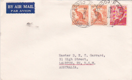Cocos Islands 1952 Cover Sent To Australia - Cocos (Keeling) Islands