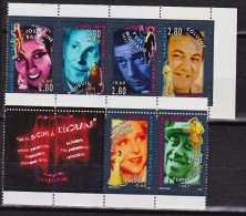 France 2897 2902 Artistes Avec Vignette De Carnet  1994 Neuf ** TB MNH  Sin Charnela Faciale 3.06 - Neufs