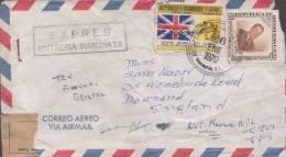Flag, Olympic, Sports, Commercial Cover To England, Honduras - Honduras