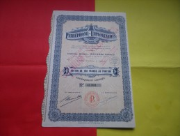 PATHEPHONE EXPLOITATION (omnium Exploitation) 1932 - Azioni & Titoli