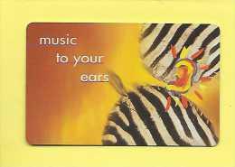 Télécarte  R10 AFRIQUE DU SUD MUSIC TO YOUR EARS S06  50U  99/08 - Afrique Du Sud