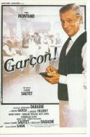 """N° C 18 - CLAUDE SAUTET  """" GARCON ! """" YVES MONTAND / NICOLE GARCIA / JACQUES VILLERET / ROSY VARTE - Posters Op Kaarten"""