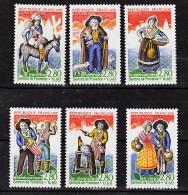 France 2976 2981 1995 Personnages Célèbres Santons De Provence Neuf ** TB MNH  Sin Charnela Faciale 3.11 - Neufs