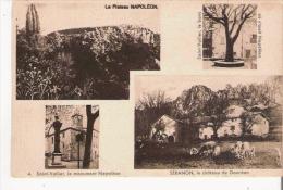 ALPES MARITIMES  CARTE 4 VUES  PLATEAU NAPOLEON SAINT VALLIER (DE THIEY) ET SERANON 4 - Frankreich
