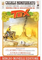60° Tex Galep Sergio Bonelli - Autografi - Claudio Villa - Luigi Corteggi - Stripverhalen