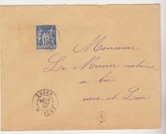 DUCEY ( Manche ) : T. à D. / Sage. ( Boîte Rurale Non Identifiée ) - Marcophilie (Lettres)
