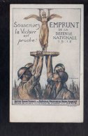 Illustrateur Dessin (C) Chavannaz  - Patriotisme / Souscrivez à L'Emprunt De La Défense Nationale 1918 - Autres Illustrateurs