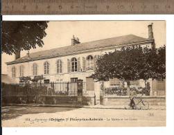 45 FLEURY-les-AUBRAIS N° 514 : La MAIRIE Et Les ECOLES / écrite Non Datée  Un Coin  Plié !! / FAIRE OFFRE !!! - France