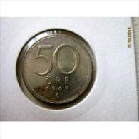 50 öre 1943 G (silver) - Suède