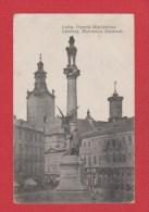 Lwow -- Lemberg  ---     Mickiewicz-Denkmal--  Cachet Militaire ---1915  -- Feldpost - Ukraine