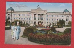 Lwow -- Lemberg  ---   Landiggsgebaude --  Cachet Censure ---1915  -- Feldpost - Ukraine