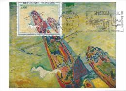 1733 - A. DERAIN - A2 - Cartas Máxima