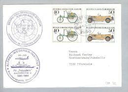 Motiv Antarktis 1984-04-06 Georg-von-Neumayer-Stat.Polarstern - Navires & Brise-glace