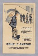 """MOTIV ARBEIT 1920-12-30 Chrom Litho """"pour L'avenir"""" - Métiers"""