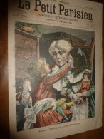 1901 LE PETIT PARISIEN: Gravures : Perte Du Navire-école Allemand GNEI-ENAUD ; Joies D'aïeule Et Joies D'enfants - Journaux - Quotidiens