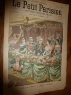1903 LE PETIT PARISIEN: Gravures : Les Souverains A TRIANON Et Au Gala De L'Opéra; Roi Et Reine D'Italie à La Monnaie - Journaux - Quotidiens