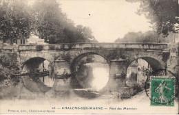 CHALONS SUR MARNE PONT DES MARINIERS CPA NO 26 - Châlons-sur-Marne