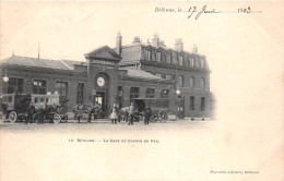 ¤¤   -   13   -   BETHUNE    -   La Gare De Chemin De Fer    -  ¤¤ - Bethune