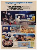 Publicité De 1983 Sur Le Playmobil Space - Collections