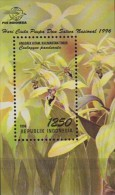 Indonesia.1996.Orchids.Sheet.1v.Michel.114.MNH.21353 - Orchideeën